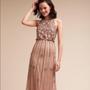 eede0561577 Anthropologie Dresses - Anthropologie Amanda Dress in Sandstone